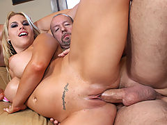 Busty Babes, Bitch gets cum blasted while she was asleep!