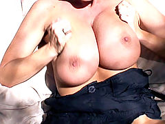 Busty Movies, Mountains, trees and cock get Kelly all horny as she hikes outdoors where she finds all three handy.