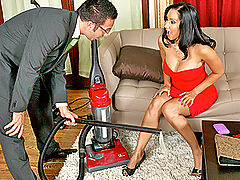Busty Babes, Brazzers This Vacuum Sucks And So Do I