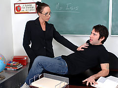 Busty Babes, Katrina Isis as Sexy Teacher