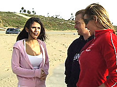 Group.Sex Vids: Content of Shy Love - I was at the beach hanging out when Shy came running by. She stopped to stretch near me so I couldn't resist talking to her. She invited us back to her place to get to know each other better...