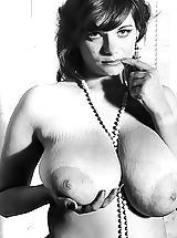 Busty Vintage, Big Busty Porn Stars Of Males Magazines of 1950-1970 - Vintage Pics of Girls with Very Big Breasts All Naked Porn