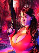 Bouncing Boobs, Hot Babes from Scotty JX s Actiongirls