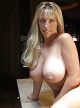 nice, Big Breasted Slut Wifey in Kitchen