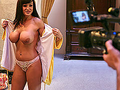 Busty Latina, Brazzers lisa ann