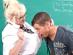 Kayla Kleevage & Chris Johnson as Sexy Teacher