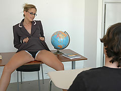Busty Babes, Kylie Worthy & Trent Soluri as Sexy Teacher