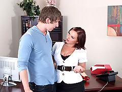 Bigtits Officesex, Katja Kassin & Danny Wylde as Sexy Teacher