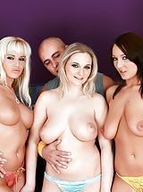 Cindy Dollar, Darina, Chantal Ferrara, Marcel Lee