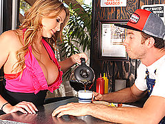 Brazzers Porn The Diner down the Road