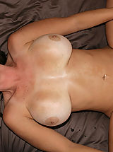 nice tits, Kelly Madison and Ryan fuck Lucky Benton while she's doing the splits.