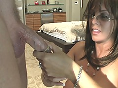 Orally Obsessed Wifey in Secretary Fucked