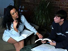 Bouncing Boobs, Angelica Sin & Trent Soluri as Sexy Teacher