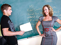 Bigtits Officesex, Brandi Love & Chris Johnson as Sexy Teacher