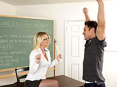 Bigtits Officesex, Anita Blue & Johnny Castle as Sexy Teacher