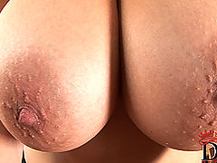 little tits, Shione Cooper naked on pool table inserting ball
