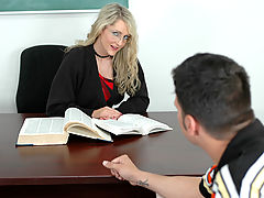 Office Vids: Lori Lust & Anthony Rosano as Sexy Teacher