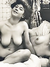 Bouncing Boobs, Very Old Female Frontal Nudity Erotic Photos Of 1900 That Only Collectors Has Seen Is Now Available On Vintagecuties.Com