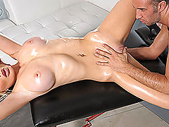 Busty Babes, Brazzers The Flirty Masseur