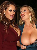 Kelly Madison, Ryan Madison, Eva Notty