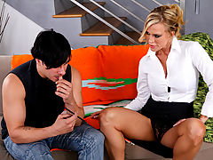 Amber Lynn & Anthony Rosano as Sexy Teacher