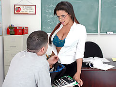 Alexis Silver & Alex Gonz as Sexy Teacher