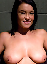 nice tites, Devi Emerson plays a bitchy inmate in need of serious correction
