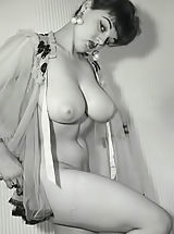 Busty Vintage, Antique Ladies