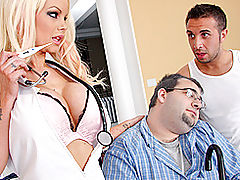 Asian Boobs, Brazzers Video Nursing Him Back To Health