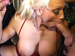 nice cleavage, Content of Nicki Hunter - Nicki Hunter was doing a video shoot for us, 413 Productions, in our new studio. Our graphic designers were having a tough time trying to work with all the moaning in the background so Ryan decided to be a generous boss and...