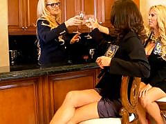 Kelly Madison, Ryan Madison, Karen Fisher, Veronica Avluv