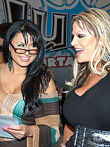 Busty Boobs, Kelly Madison and Eva Angelina0
