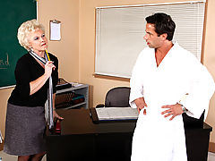 Hard Nipples, Mrs. Jewell & Alan Stafford as Sexy Teacher