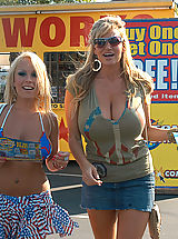 Jessica Moore and Kelly Madison 2