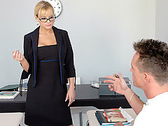 Bigtits Officesex, Sandy Simmers & Donny Long as Sexy Teacher