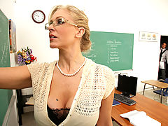 Bigtits Officesex, Julia Ann & Rocco Reed as Sexy Teacher