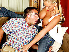 Busty Babes, Brazzers Videos Your mom's hot ass loves my nerd cock!