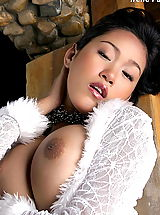 Busty Mature, Asian Women irene fah a4y 03 bigtits hanging lingerie
