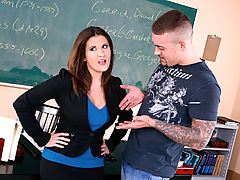 nice juggs, Austin Kincaid & Jarrod Steed as Sexy Teacher