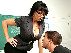 nice breasts, Alia Janine & Dane Cross as Sexy Teacher