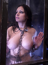 Big Tits Fetish, Aria Giovanni gets the Waterbondage treatment!