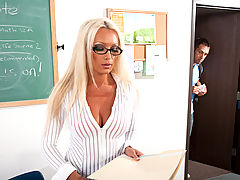 Diana Doll & Johnny Castle as Sexy Teacher
