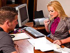 Bigtits Officesex, Flower Tucci & Chris Johnson as Sexy Teacher