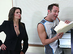 Naughty America, June Summers & Will Powers as Sexy Teacher
