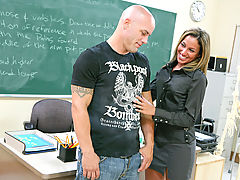 Bigtits Officesex, Adriana Deville as Sexy Teacher