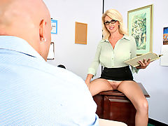 Bikini Vids: Penny Porsche & Derrick Pierce as Sexy Teacher