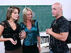 Emma Starr, Nika Noir & Derrick Pierce as Sexy Teacher