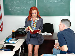 Bigtits Officesex, Shannon Kelly & Alex Gonz as Sexy Teacher