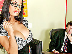 Busty Lesbian, Brazzers Free A Real Office Whore