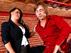 Bigtits Officesex, Indianna Jaymes & Chad Alva as Sexy Teacher
